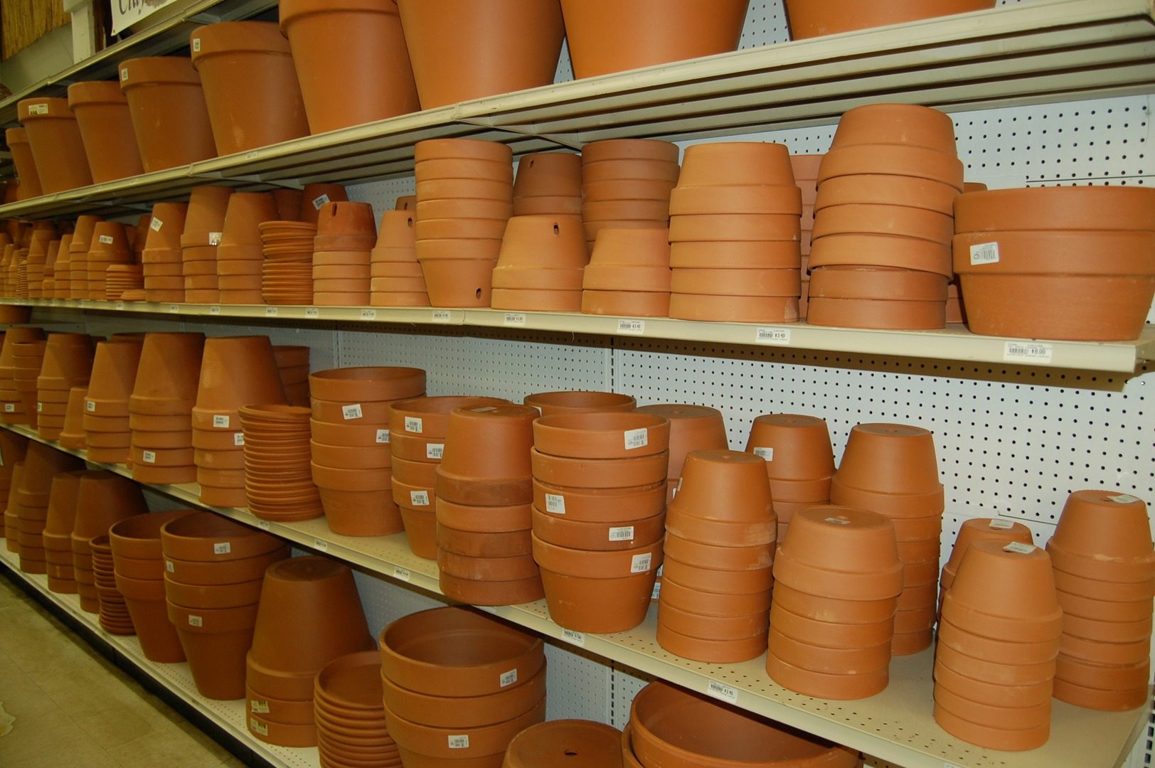 Pottery at Fairfield Garden Center